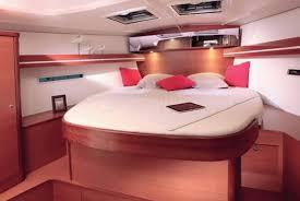 Cabina di Dufour 445, Vieniviaconme. Noleggio barche Veliana Charter