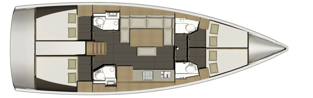 Sezione barca a vela Vieniviaconme, noleggio Veliana Charter