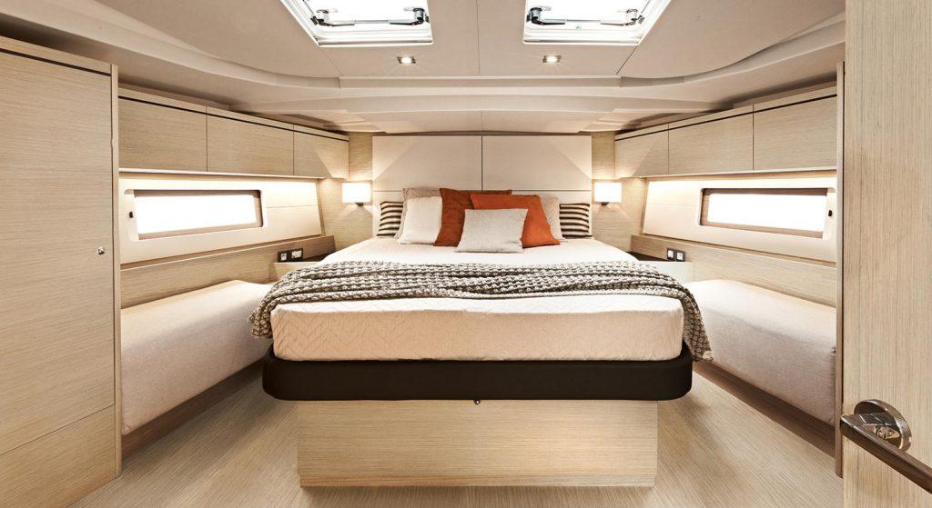 Cabina barca a vela Cassiopea, noleggio Veliana Charter